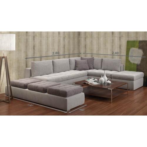 Γωνιακός Καναπές super comfort
