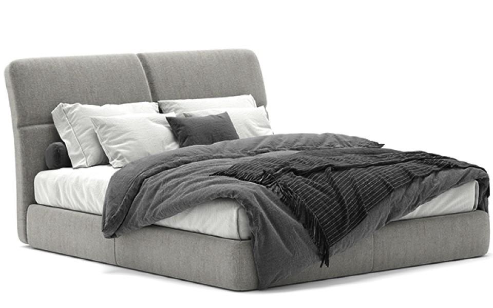Κρεβάτι υφασμάτινο Apex 140X200cm