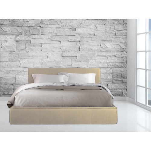 Κρεβάτι Υφασμάτινο Αρμονία P-1 Διπλό 160X200cm μαζί με ορθοπεδικό στρώμα